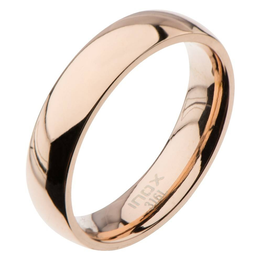New Fashion Wedding Ring: Rose Gold Mens Ring Wedding Intended For Male Rose Gold Wedding Bands (View 8 of 15)