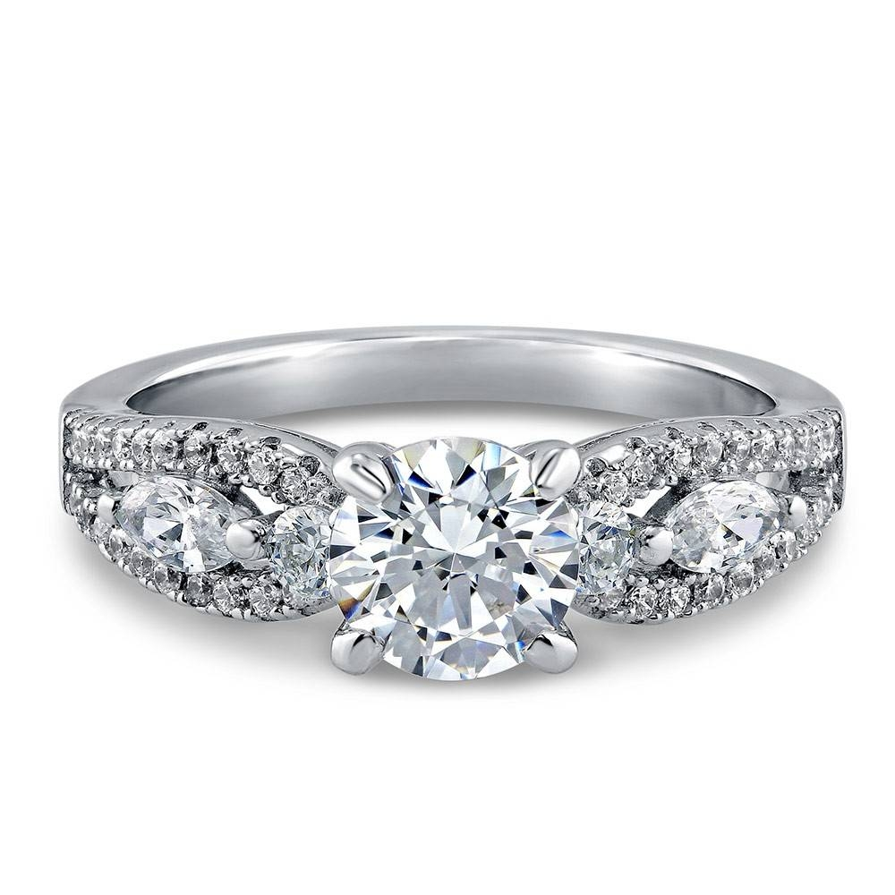 Cheap Sterling Silver Diamond Rings