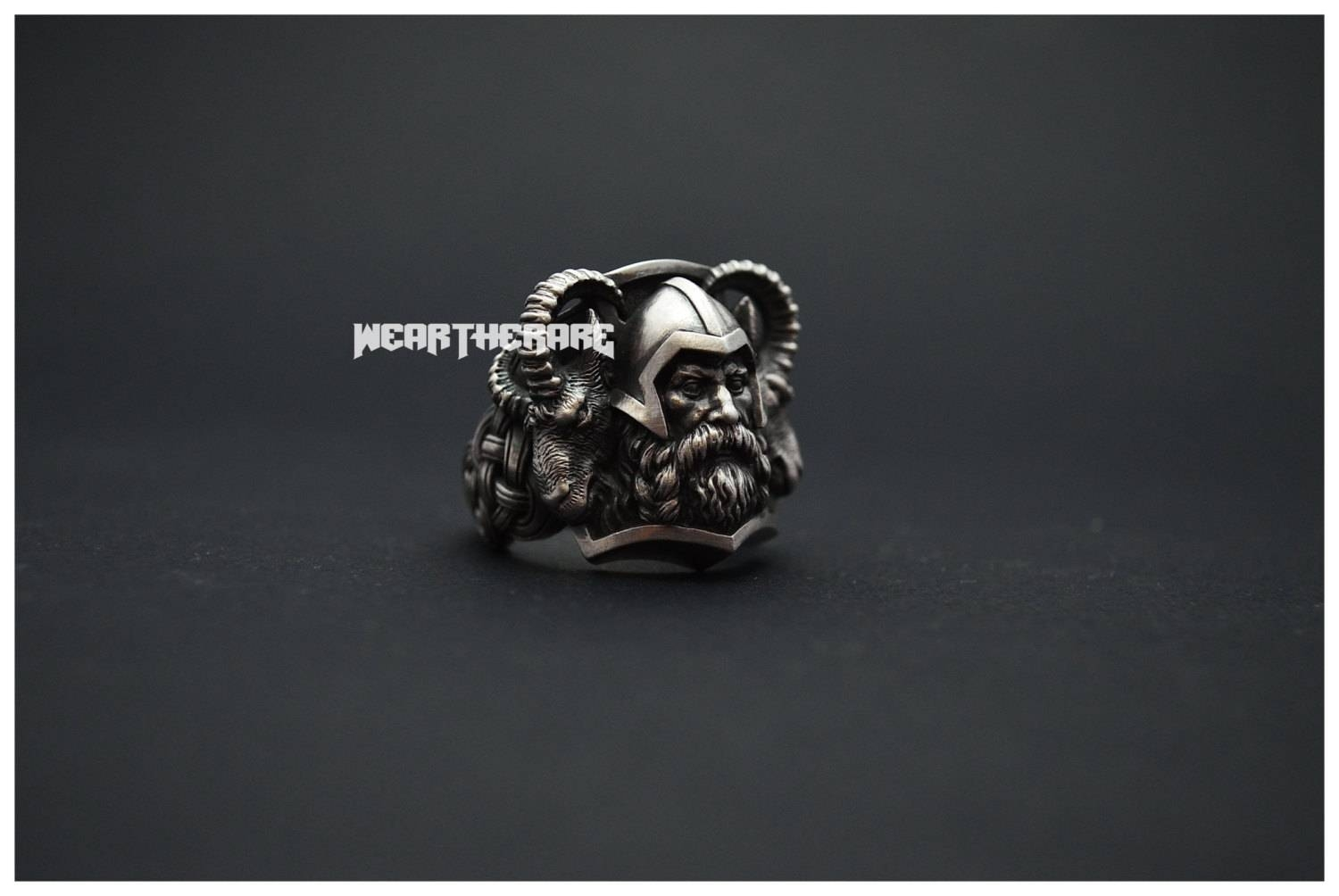 Norse Thor Viking Ring Scandinavian Norse Jewelry Thor Hammer Pertaining To Norse Engagement Rings (View 5 of 15)