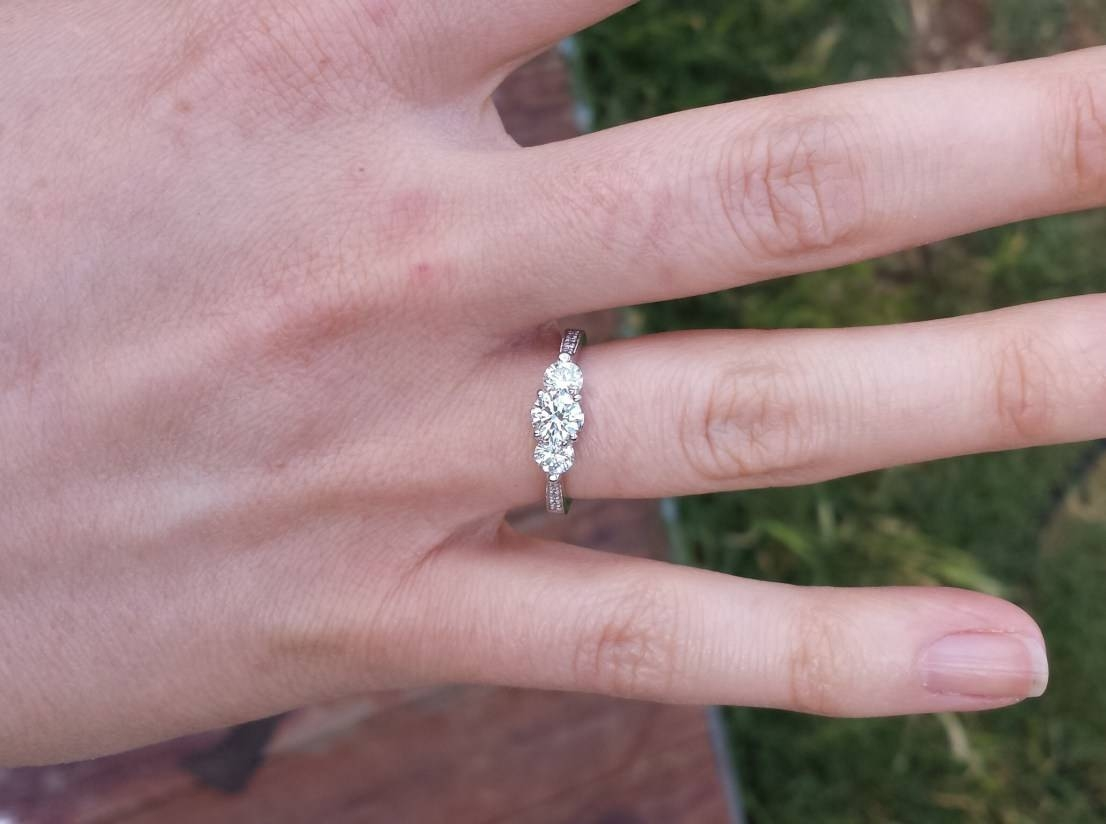 Notable Engagement Ring In Costco Tags : Engagement Ring Costco For Costco Diamond Wedding Rings (Gallery 13 of 15)