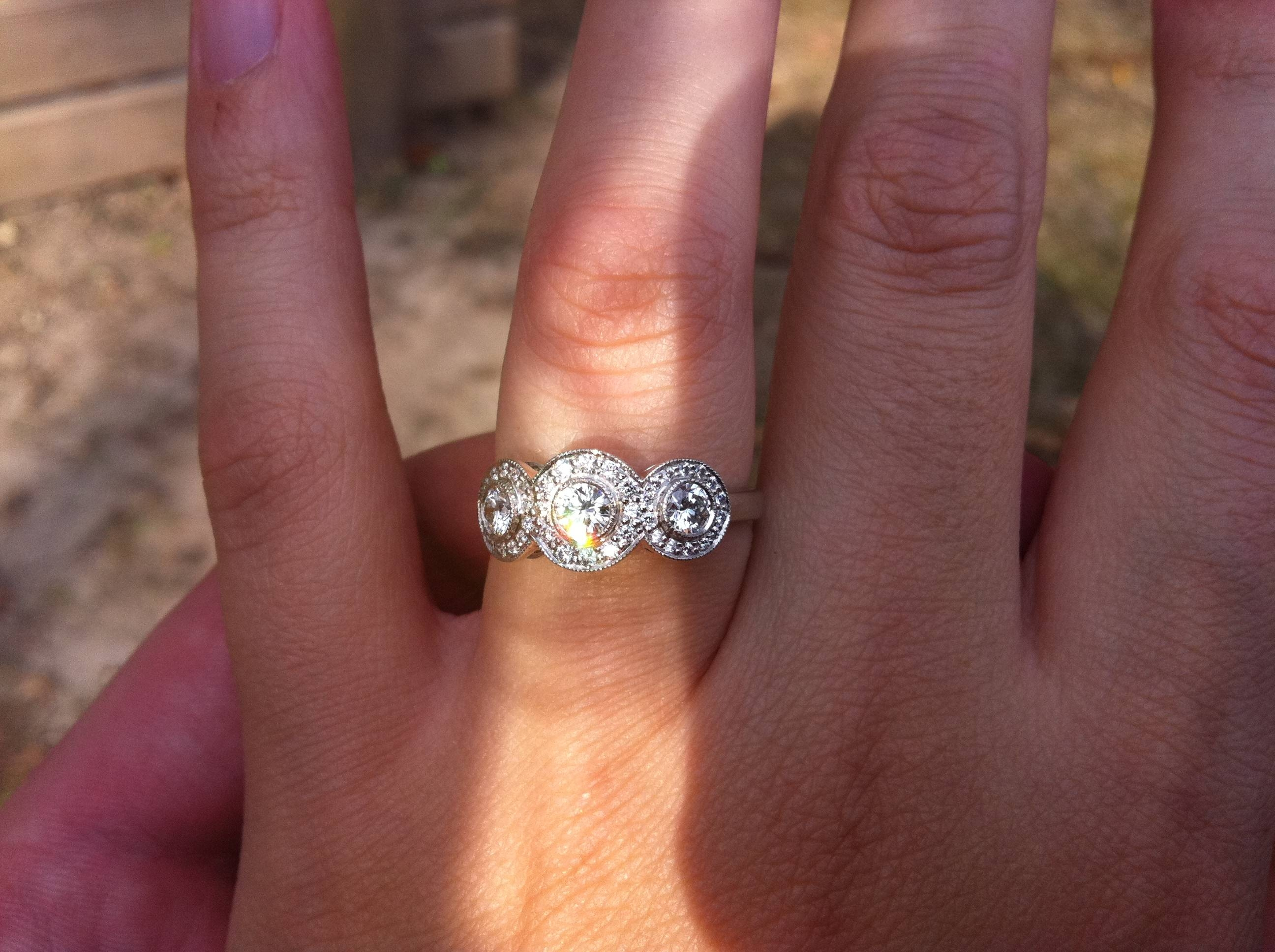 Notable Engagement Ring In Costco Tags : Engagement Ring Costco In Costco Diamond Wedding Rings (Gallery 10 of 15)