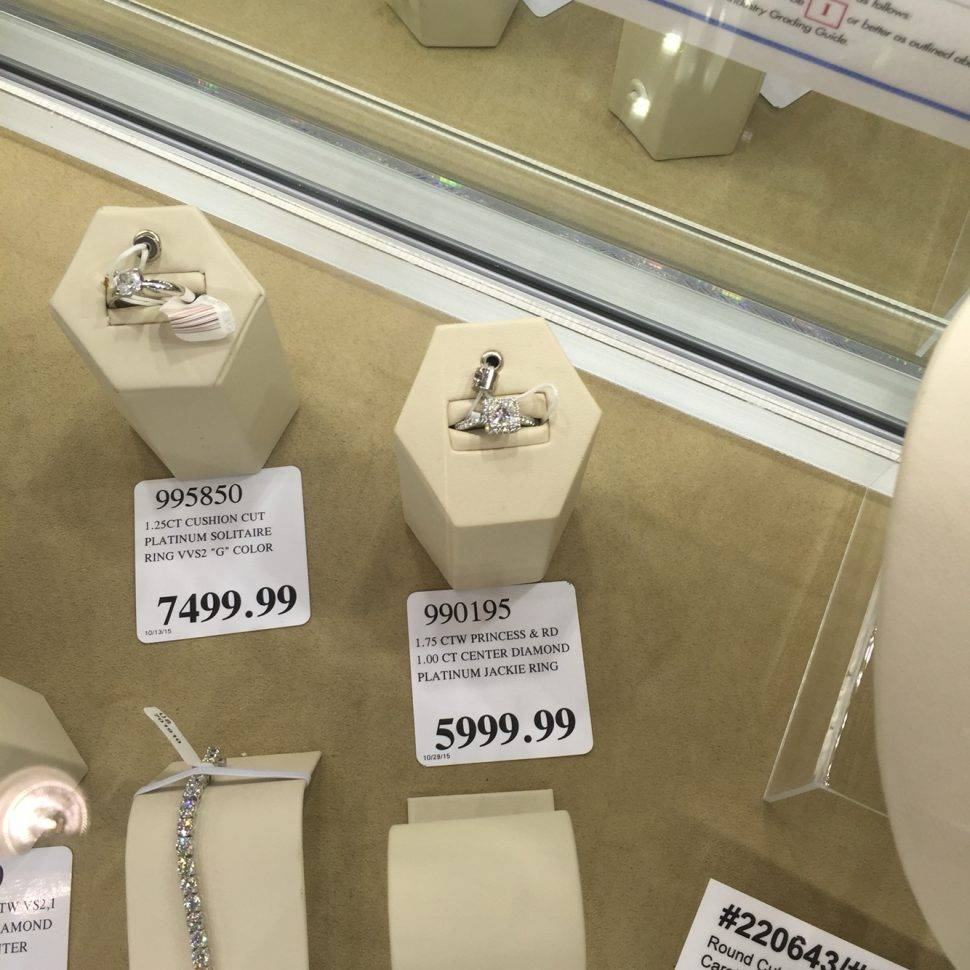 Featured Photo of Platinum Wedding Bands Costco