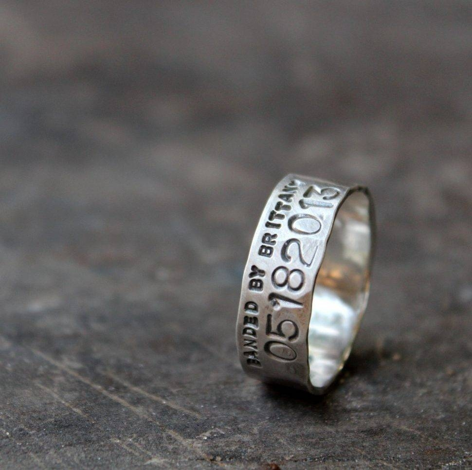 Notable Ideas Men Wedding Bands In Topaz Jewelry Snapshot Of In Custom Duck Bands Wedding Rings For Men (View 13 of 15)