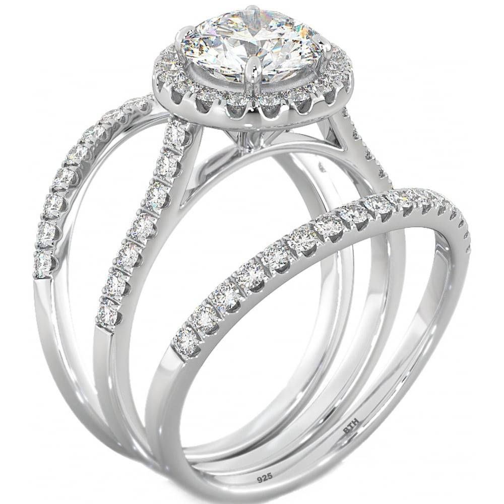 Now,forever And Always Wedding Ring Set Inside Engagement Wedding Rings Sets (View 9 of 15)