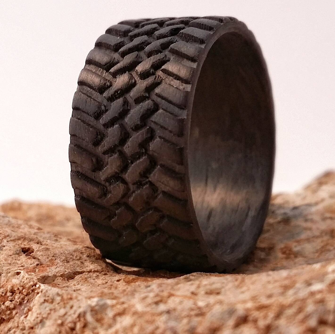 Off Road 10Mm Wide Carbon Fiber Tread Ring (View 7 of 15)