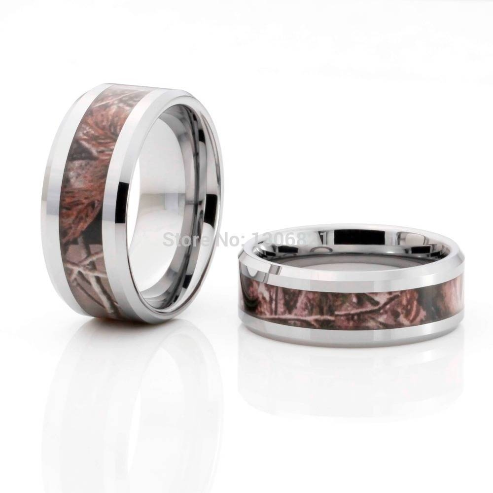 Online Buy Wholesale Camo Rings From China Camo Rings Wholesalers With Men's Wedding Bands Styles (View 4 of 15)