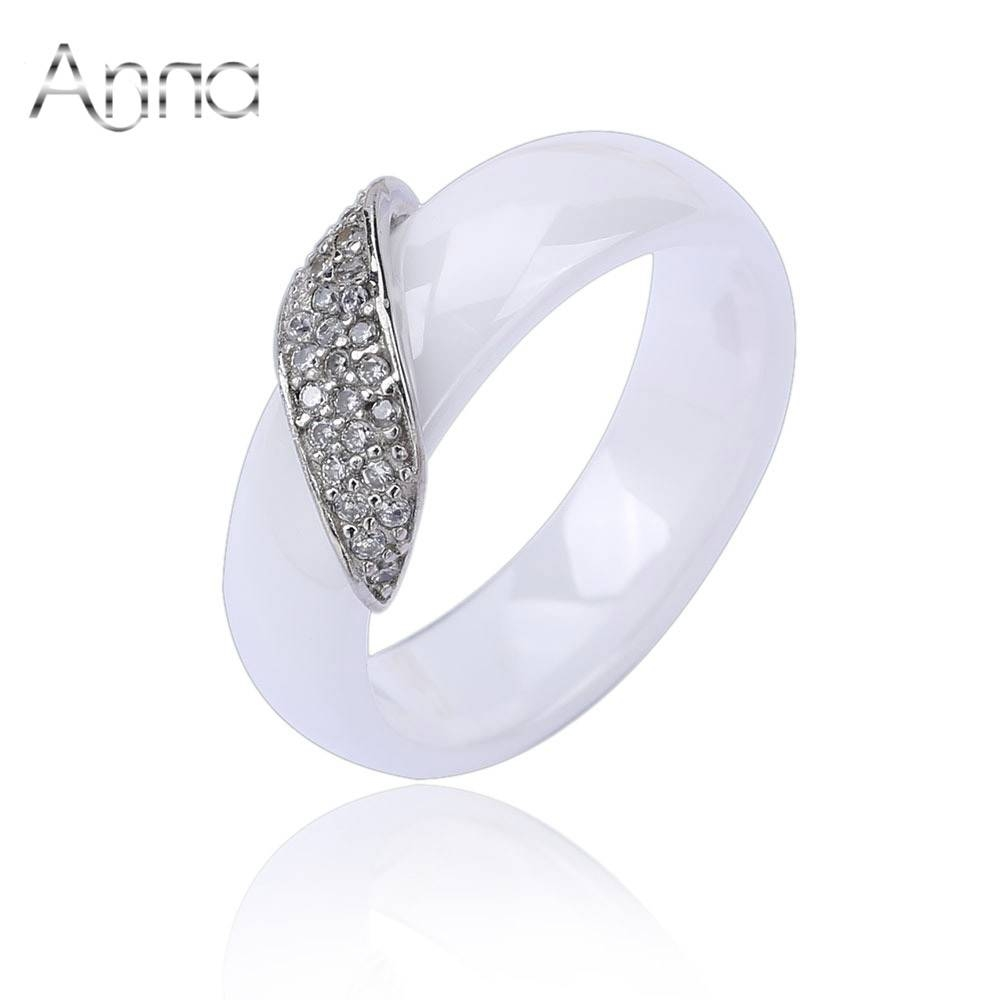 Online Buy Wholesale Ceramic Ring From China Ceramic Ring Pertaining To White Ceramic Wedding Bands (Gallery 20 of 339)