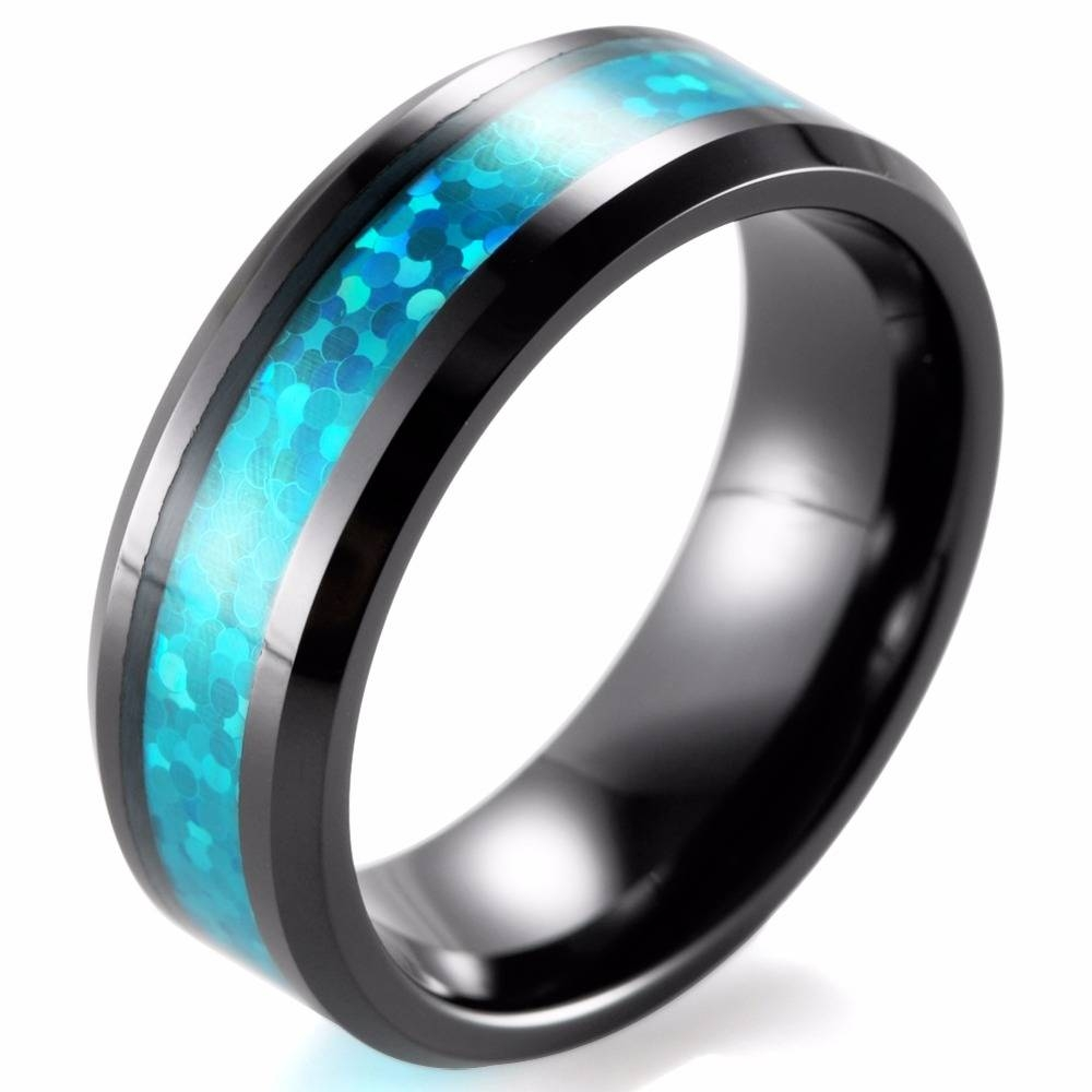 Online Buy Wholesale Ceramic Wedding Bands From China Ceramic Regarding Ceramic Wedding Bands (Gallery 13 of 15)