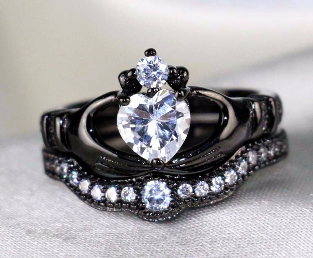 Online Buy Wholesale Irish Engagement Rings From China Irish For Claddagh Rings Engagement Sets (Gallery 9 of 15)