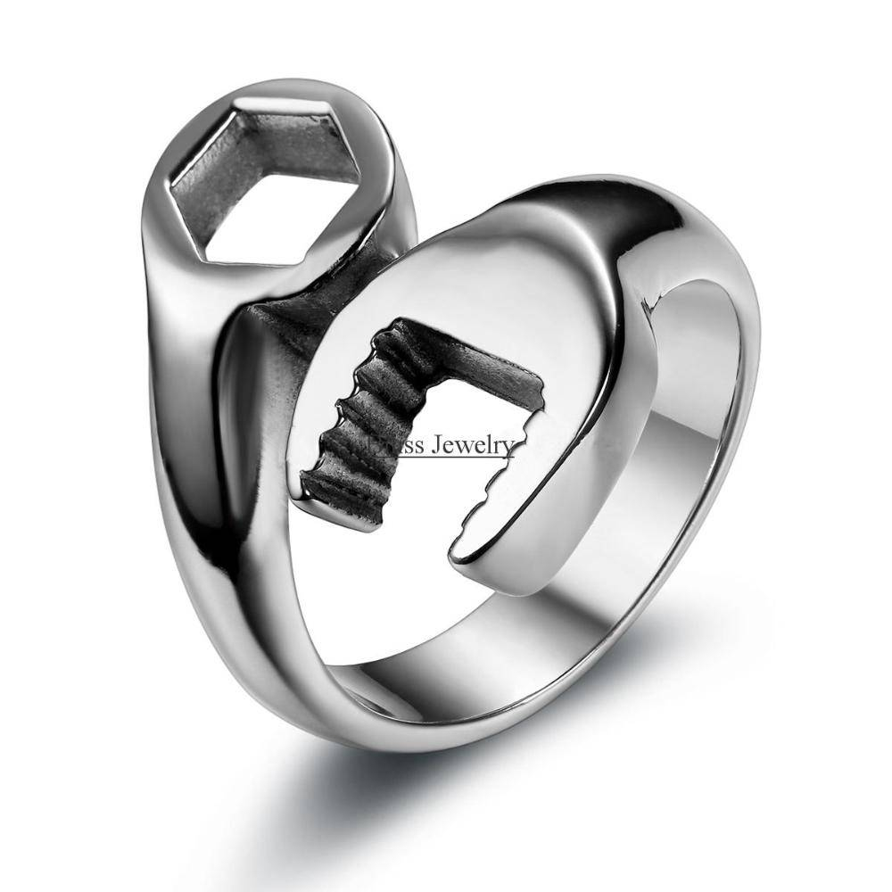 Online Buy Wholesale Mechanics Ring From China Mechanics Ring With Regard To Mechanic Wedding Bands (View 4 of 15)