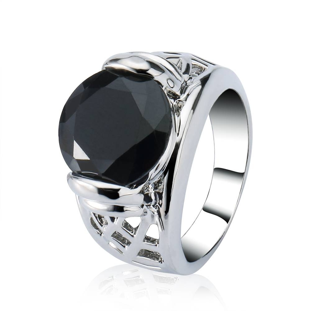 Online Buy Wholesale Obsidian Wedding Ring From China Obsidian Within Obsidian Wedding Bands (Gallery 2 of 15)