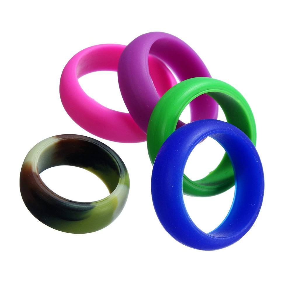 Online Buy Wholesale Silicone Wedding Band From China Silicone Inside Plastic Wedding Bands (View 2 of 15)