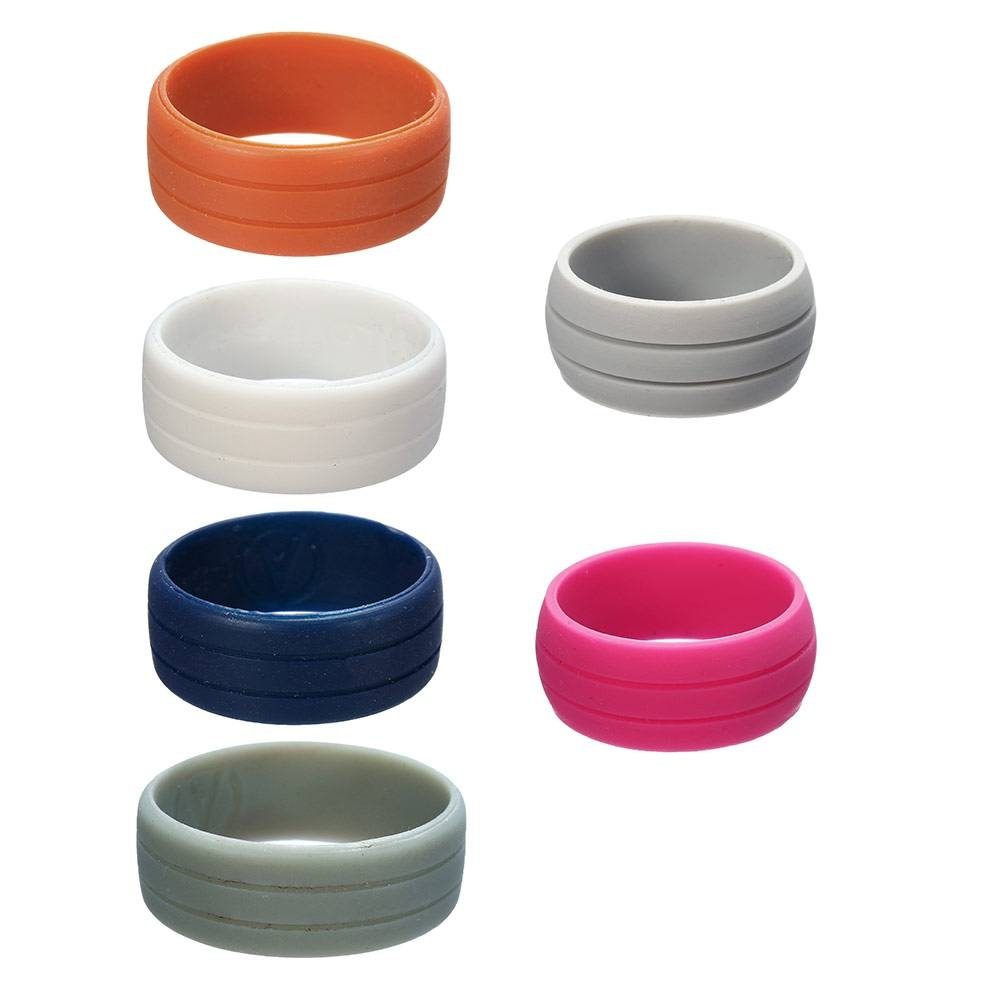 Online Buy Wholesale Silicone Wedding Band From China Silicone Throughout Plastic Wedding Bands (Gallery 9 of 15)