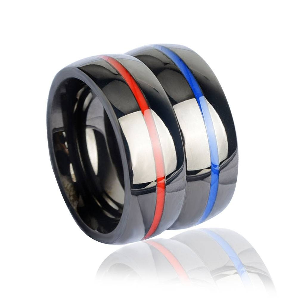 Online Buy Wholesale Thin Wedding Band From China Thin Wedding Throughout Thin Blue Line Wedding Bands (View 9 of 15)