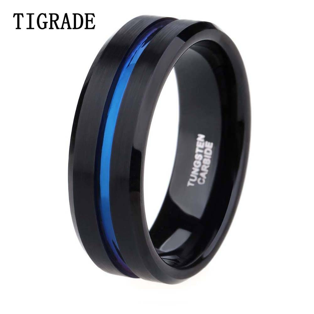 Online Buy Wholesale Thin Wedding Band From China Thin Wedding Within Thin Blue Line Wedding Bands (View 10 of 15)