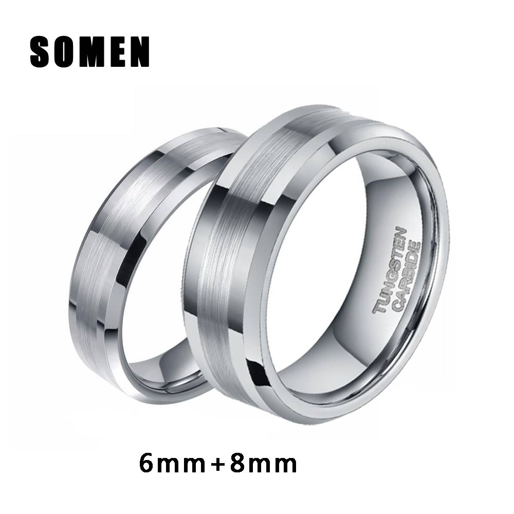 Online Get Cheap Antler Wedding Band Aliexpress | Alibaba Group Throughout Horn Inlay Titanium Wedding Bands (Gallery 15 of 15)