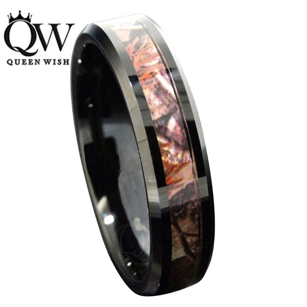 Online Get Cheap Camo Wedding Rings  Aliexpress | Alibaba Group In Mens Camo Tungsten Wedding Bands (Gallery 6 of 15)