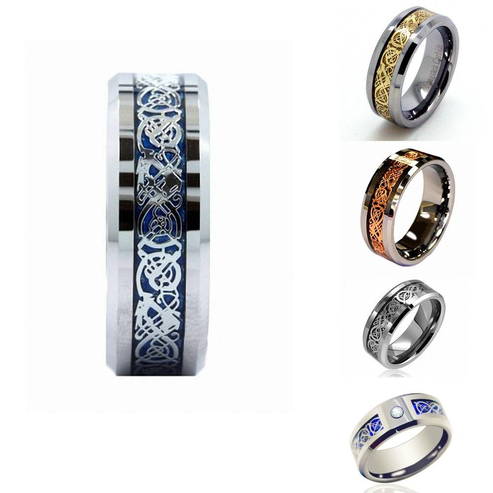 Online Get Cheap Dragon Wedding Ring Sets Aliexpress Pertaining To Irish Wedding Bands For Women (View 14 of 15)