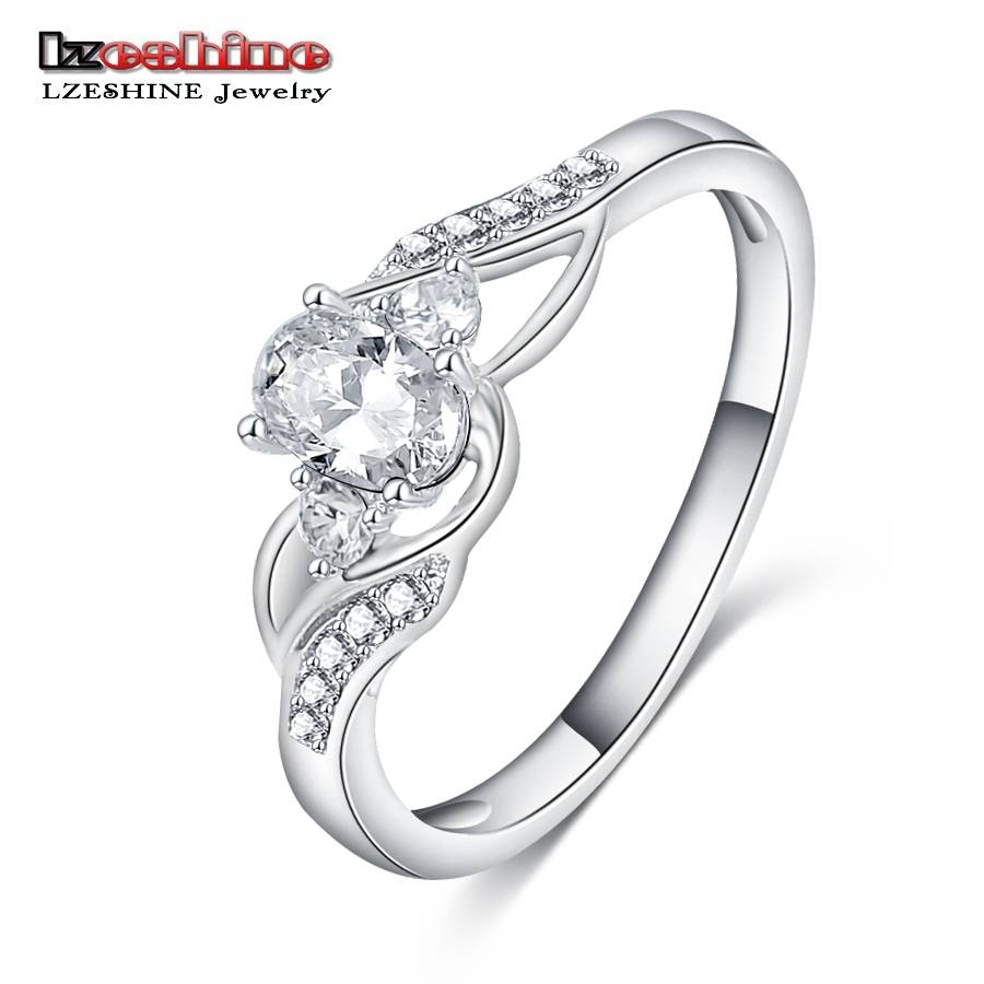 Online Get Cheap Feminine Engagement Ring  Aliexpress Intended For Feminine Engagement Rings (Gallery 1 of 15)