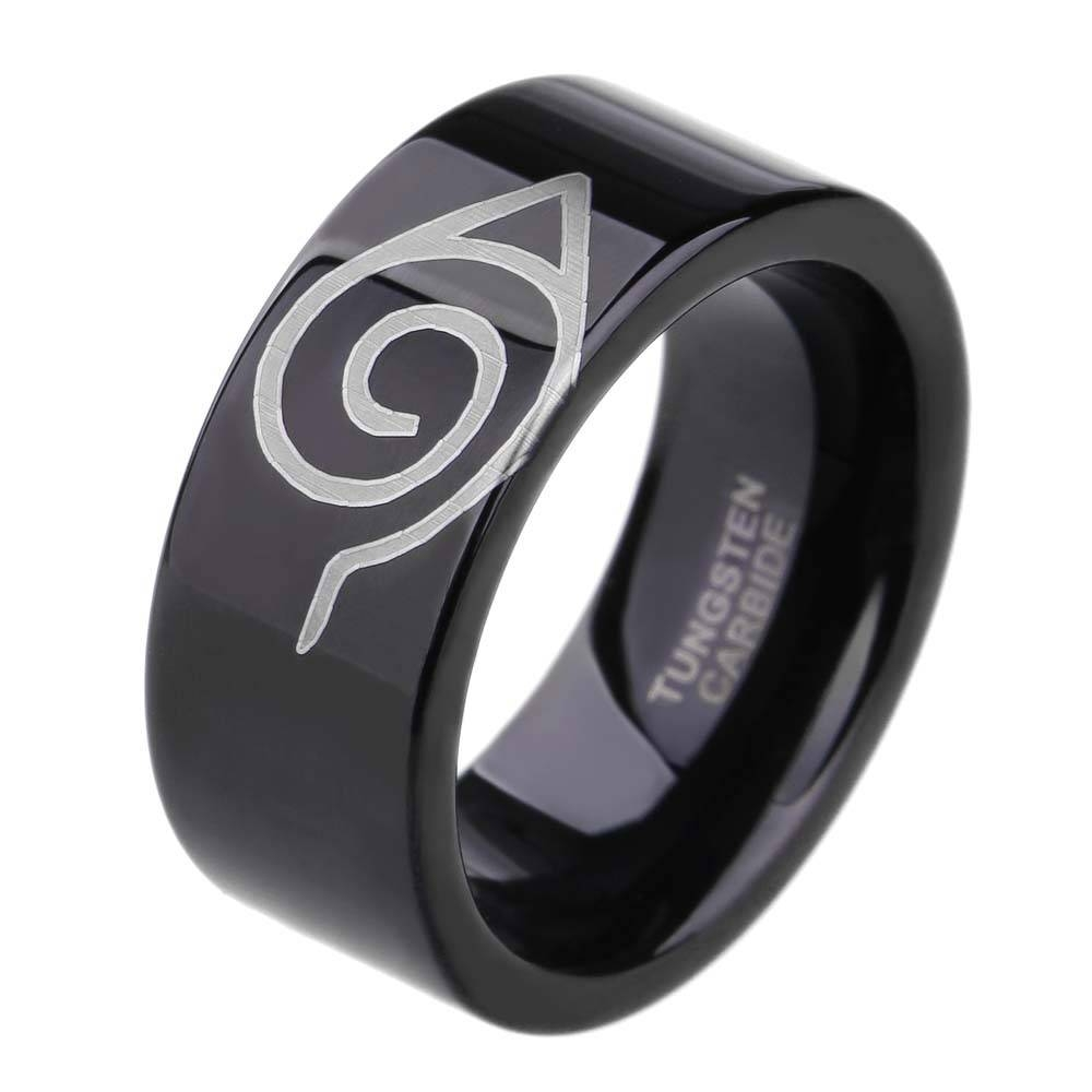 Online Get Cheap Flat Black Wedding Band  Aliexpress | Alibaba Intended For Flat Black Wedding Bands (View 13 of 15)