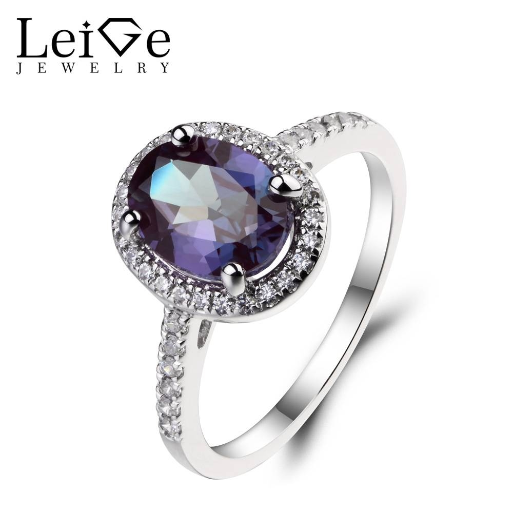 Online Get Cheap Gemstone Alexandrite  Aliexpress | Alibaba Group Intended For Alexandrite Wedding Bands (View 12 of 15)