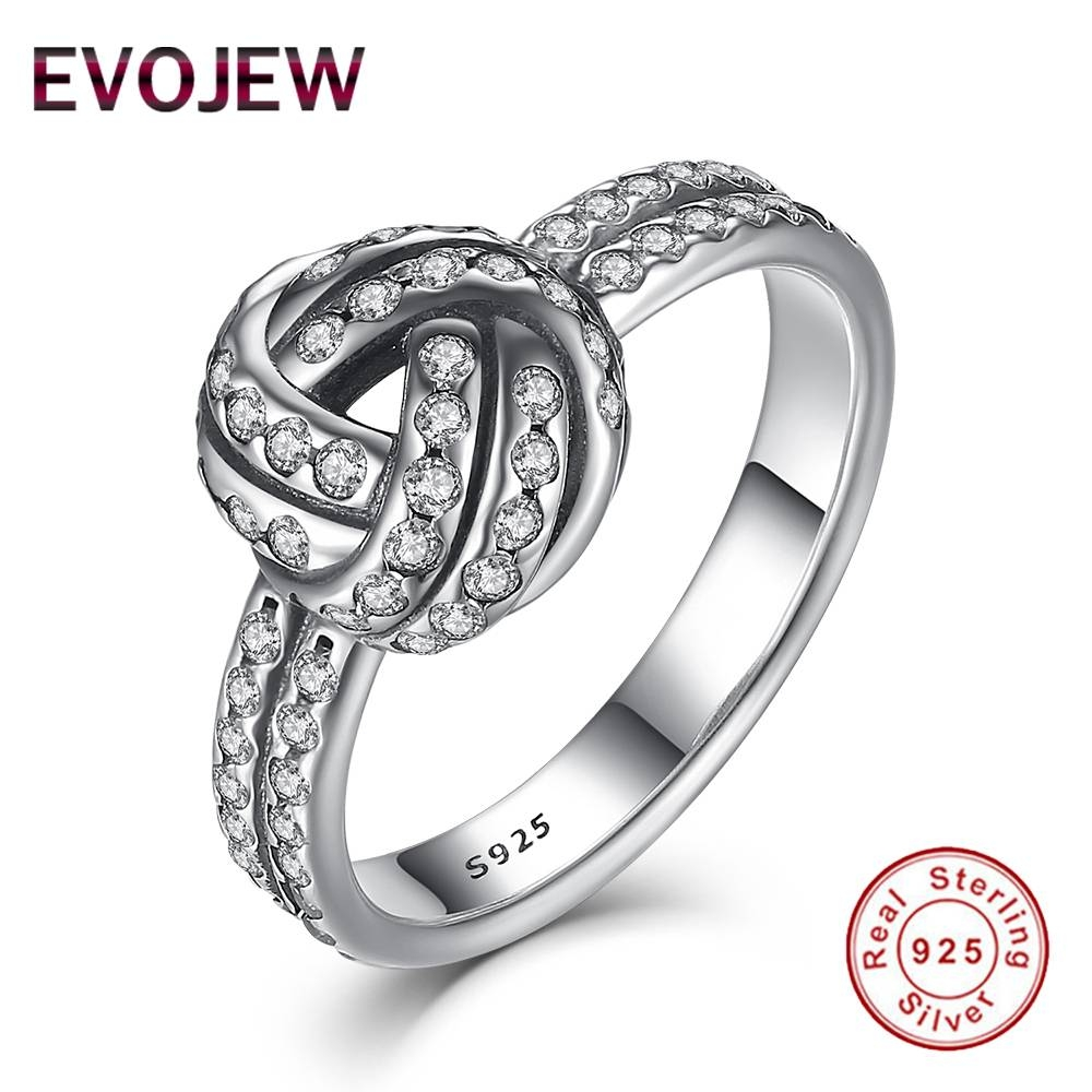 Online Get Cheap Love Knot Engagement Ring  Aliexpress For Love Knot Engagement Rings (View 14 of 15)
