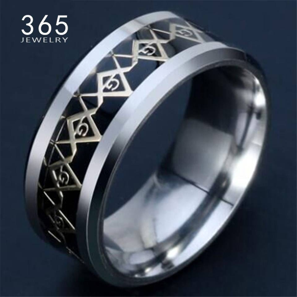 Online Get Cheap Masonic Wedding Rings  Aliexpress | Alibaba Group For Masonic Wedding Bands (View 11 of 15)