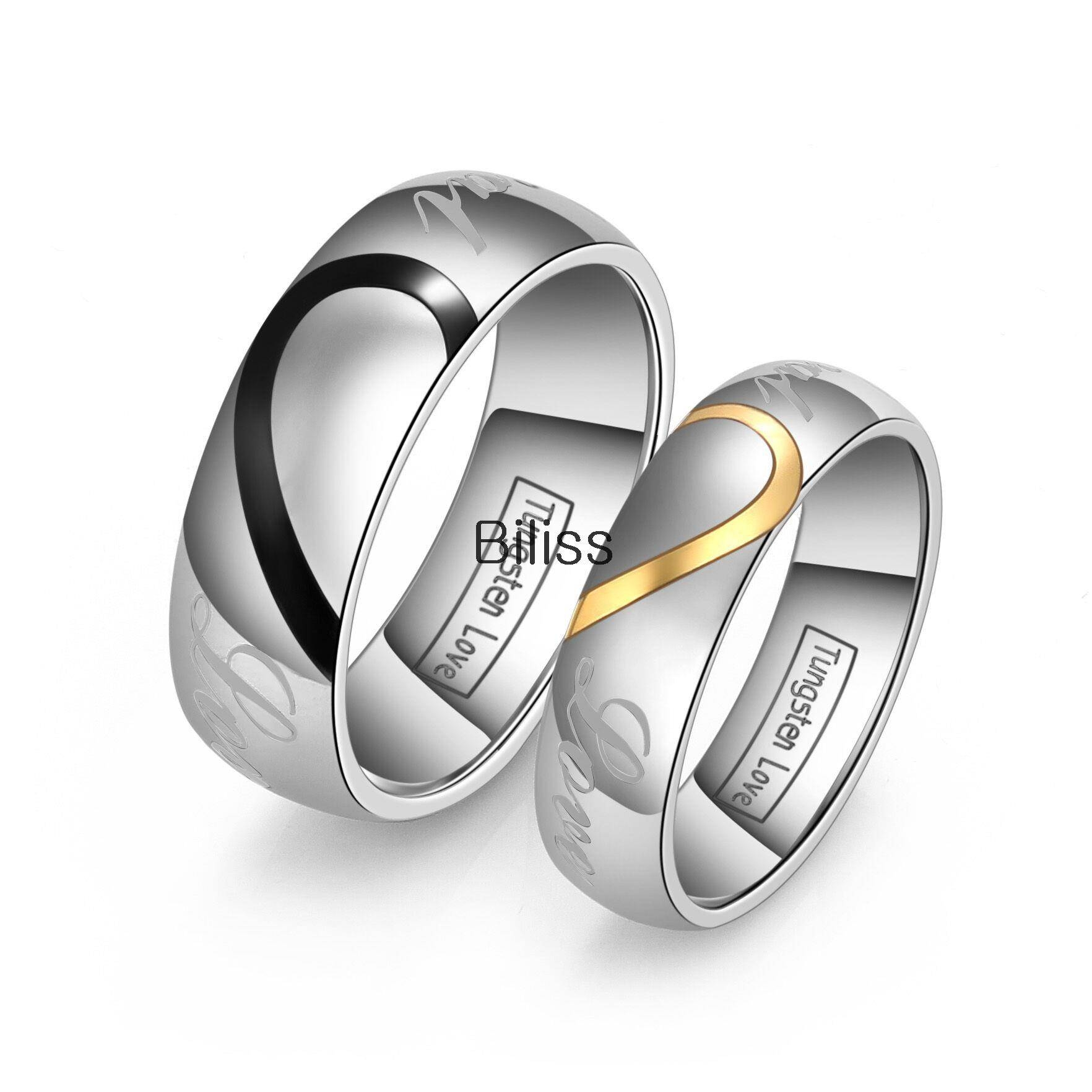 Online Get Cheap Matching Tungsten Wedding Bands  Aliexpress Regarding Men's And Women's Matching Wedding Bands (Gallery 5 of 15)