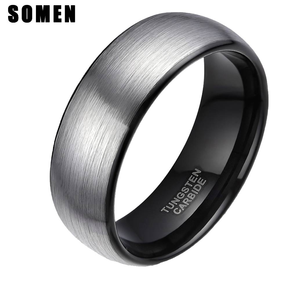 Online Get Cheap Mens Carbide Rings  Aliexpress | Alibaba Group Inside Cheap Men's Wedding Bands (View 8 of 15)