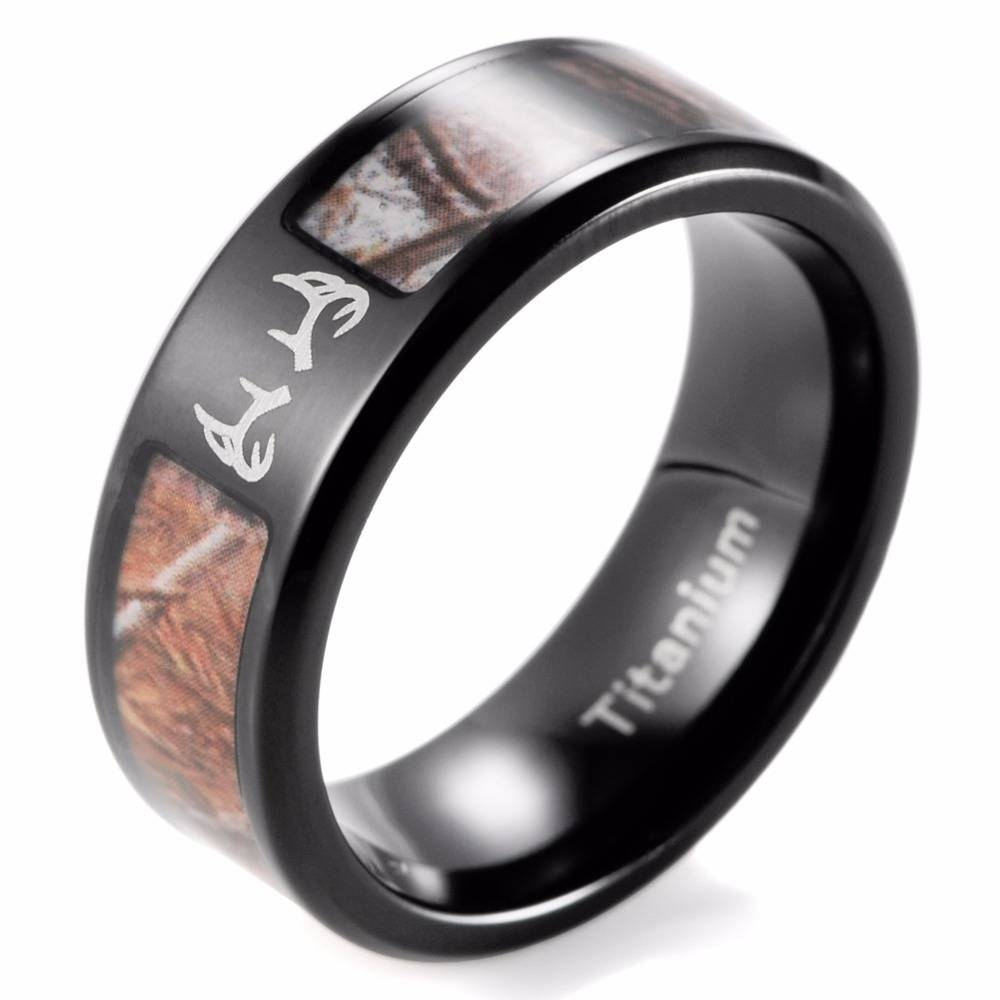 Online Get Cheap Mens Realtree Wedding Bands  Aliexpress Intended For Men's Outdoor Wedding Bands (View 12 of 15)