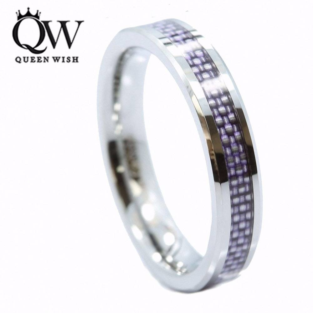 Online Get Cheap Purple Tungsten Ring  Aliexpress | Alibaba Group Inside Purple Wedding Bands (View 9 of 20)