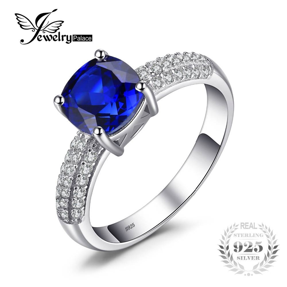 Online Get Cheap Sapphire Wedding Rings  Aliexpress | Alibaba For Sapphire Wedding Rings For Women (Gallery 10 of 15)