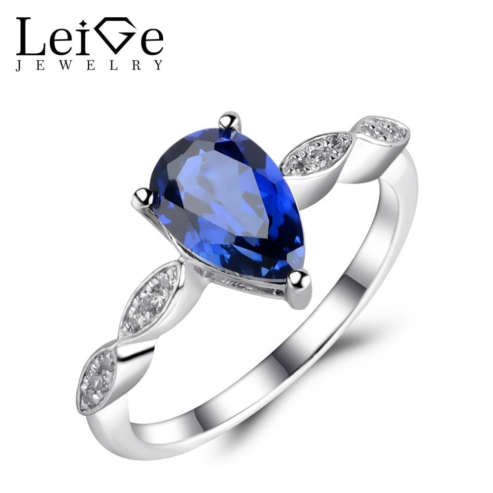 Online Get Cheap Sapphires Engagement Rings  Aliexpress In Sapphire Wedding Rings For Women (Gallery 15 of 15)