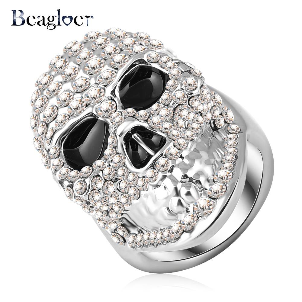 Online Get Cheap Skull Engagement Ring  Aliexpress | Alibaba Group Intended For Black Diamond Skull Engagement Rings (View 5 of 15)