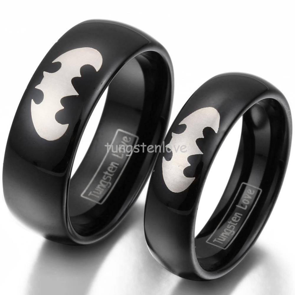 Online Get Cheap Tungsten Black Aliexpress | Alibaba Group In Black And Red Men's Wedding Bands (View 12 of 15)