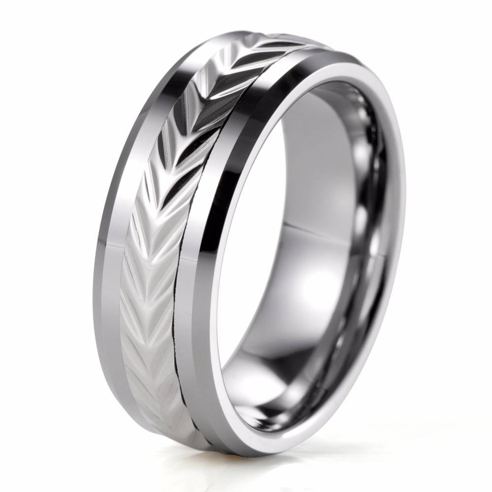 Online Get Cheap Tungsten Spinner Ring Aliexpress | Alibaba Group Pertaining To Men's Spinner Wedding Bands (View 10 of 15)