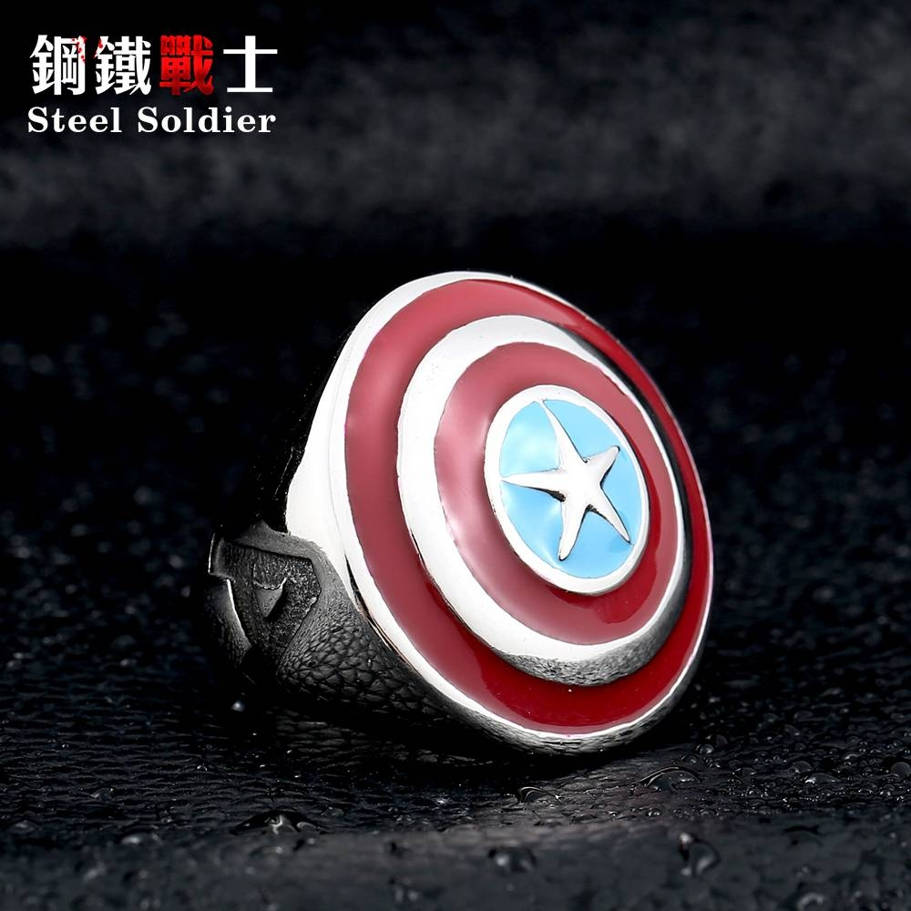 Online Kopen Wholesale Captain America Wedding Band Uit China Inside Captain America Wedding Bands (View 11 of 15)