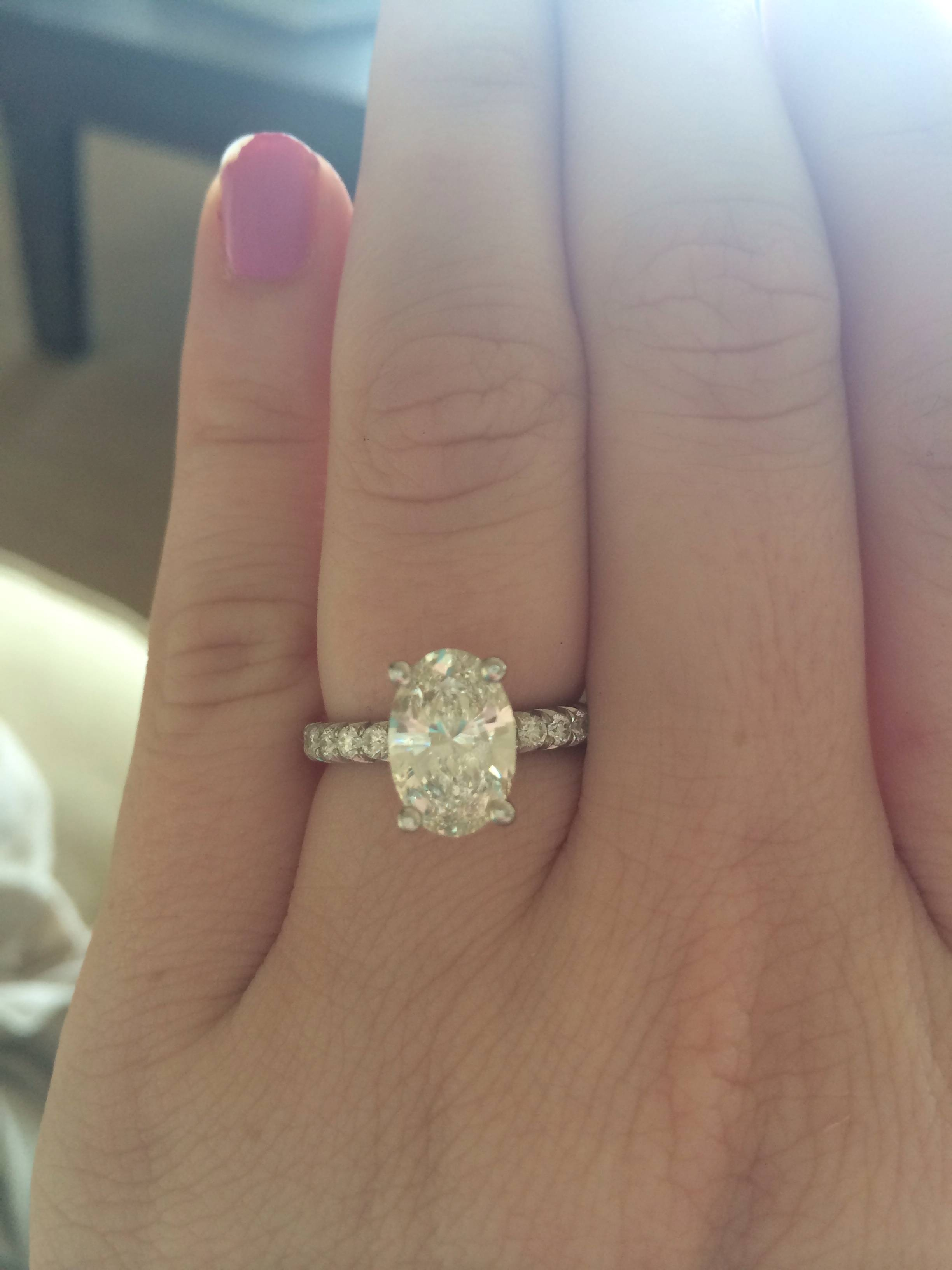 Oval Diamond Archives – Adiamor Blog Within Adiamor Engagement Rings (Gallery 8 of 15)