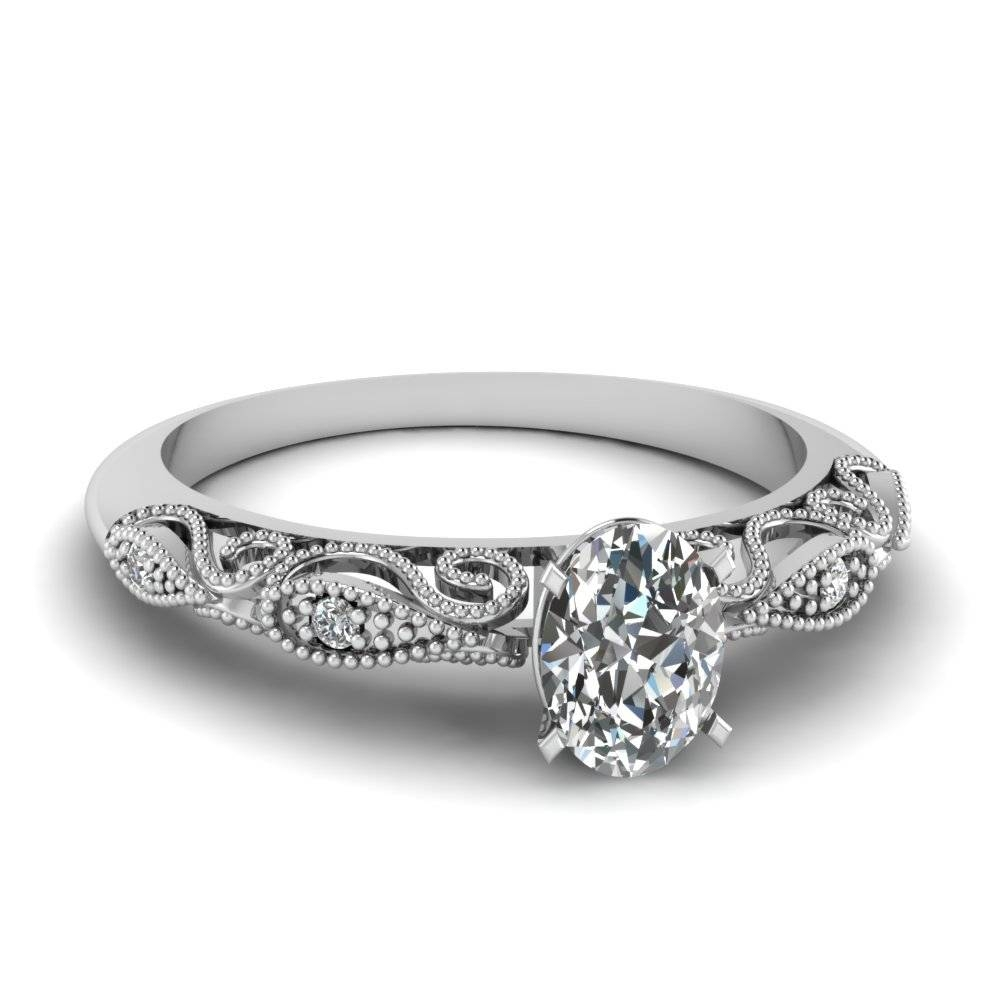 Featured Photo of White Gold Engagement Rings