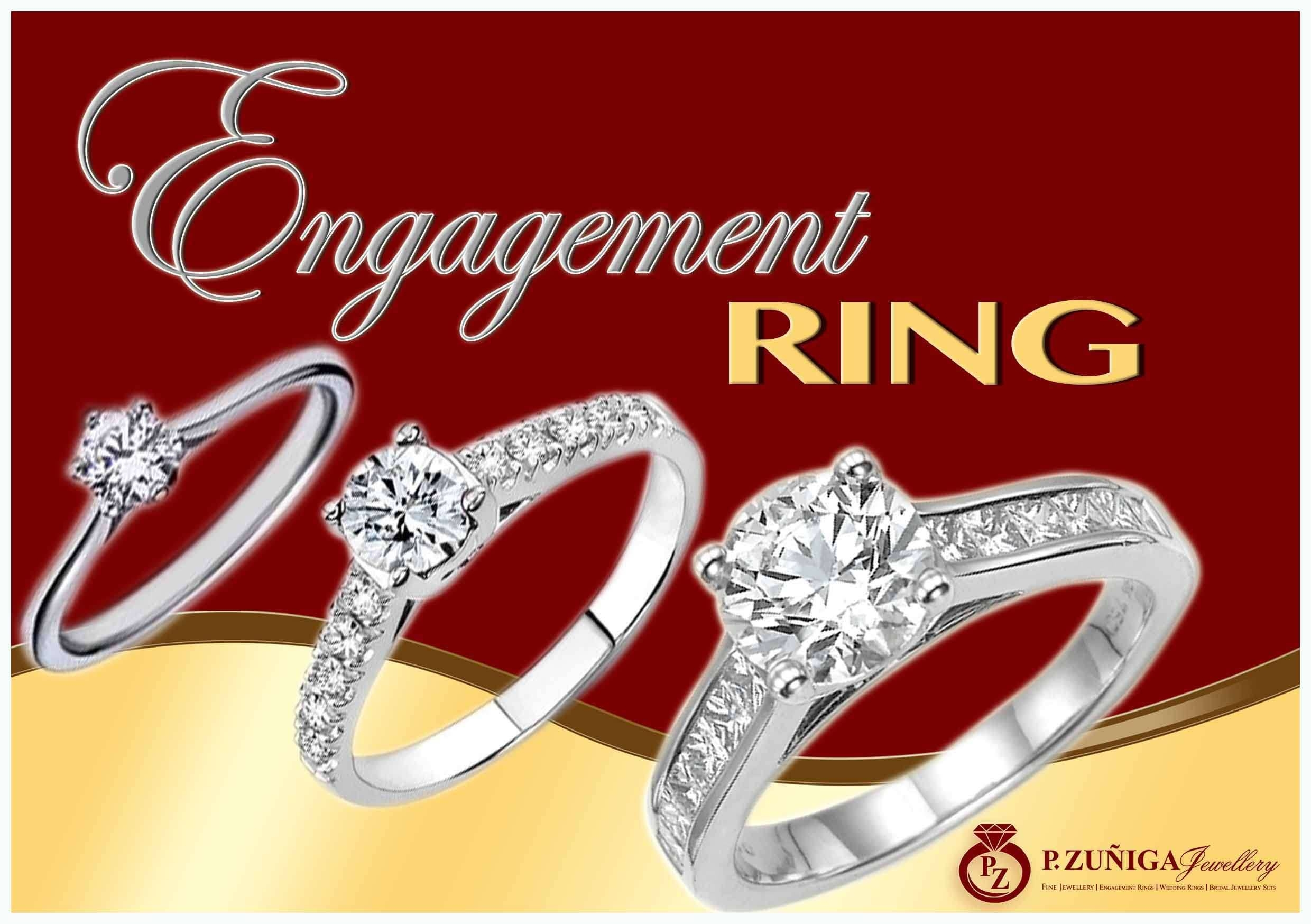 P Zuniga Jewellery Inside Silver Engagement Rings Philippines (View 12 of 15)