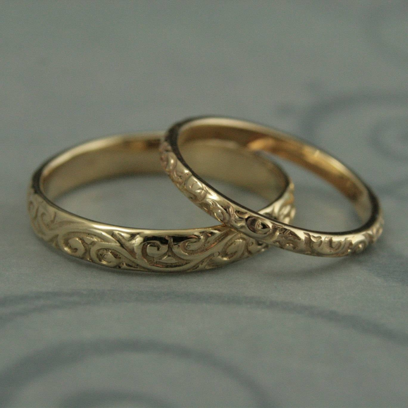 Featured Photo of Etsy Vintage Wedding Bands