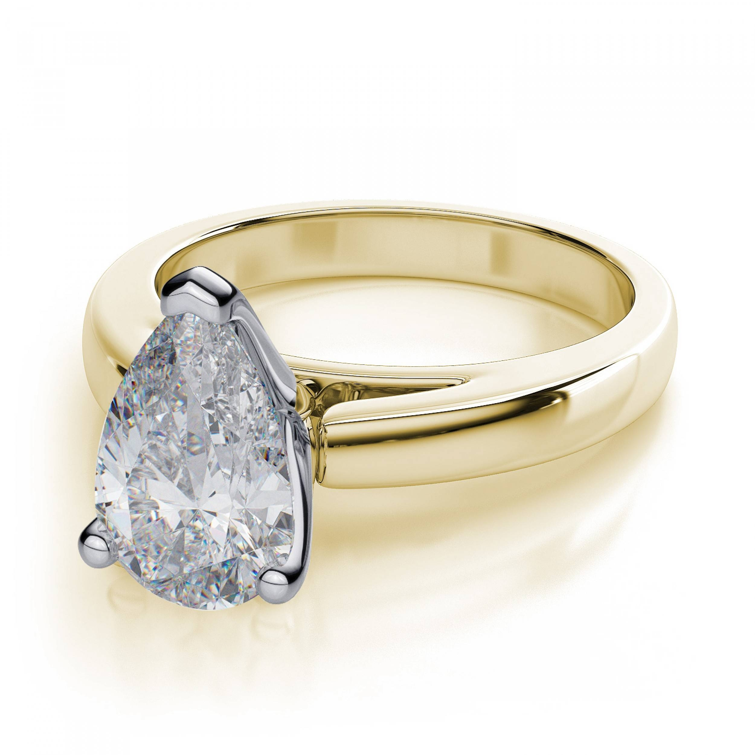 Featured Photo of Pear Bezel Engagement Rings