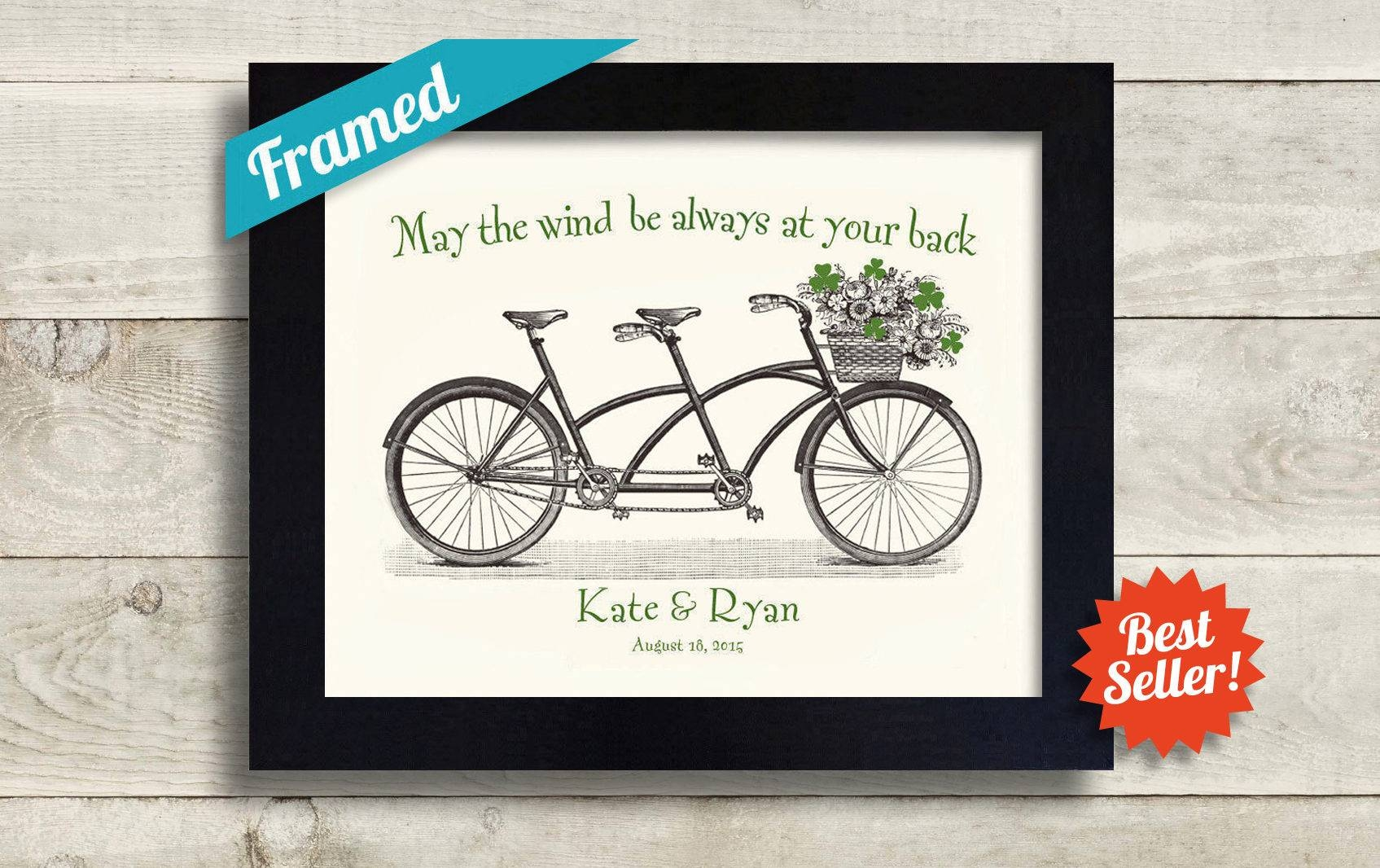 Personalized Irish Wedding Gift Irish Gift Unique Engagement Pertaining To Irish Engagement Gifts (View 7 of 15)