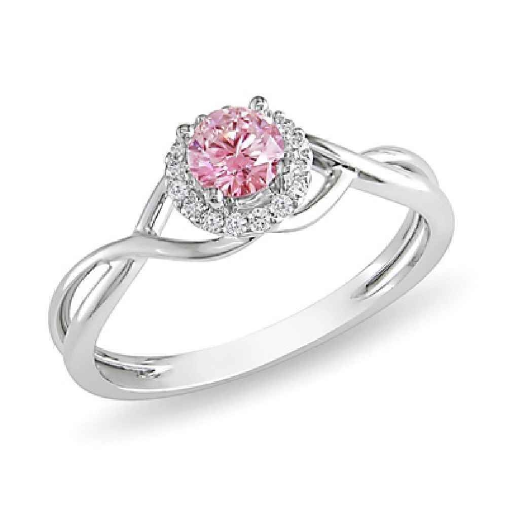 Pink Diamond Engagement Rings At Zales | Best Images Collections Intended For Zales Diamond Engagement Rings (Gallery 13 of 15)
