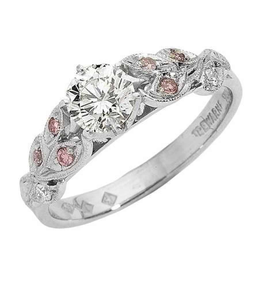 Pink Diamond Engagement Rings Melbourne | Best Images Collections With Celtic Puzzle Engagement Rings (Gallery 15 of 15)