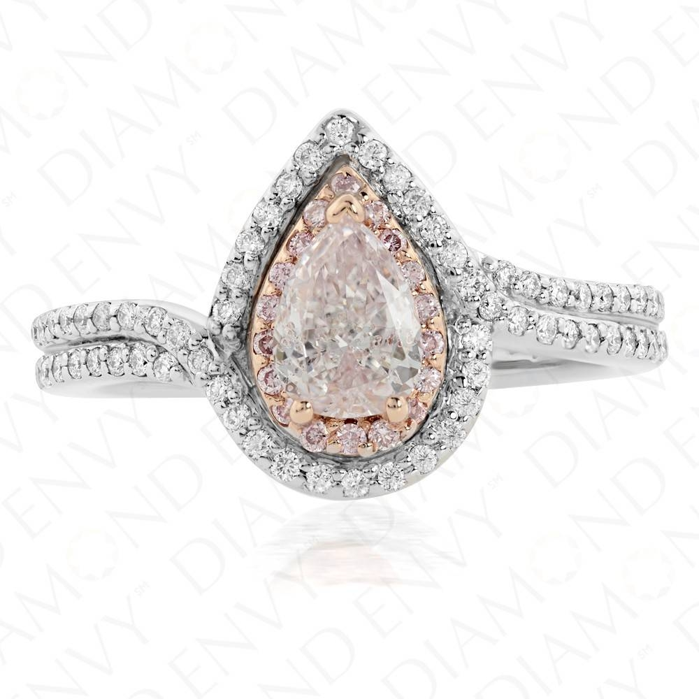 Pink Diamond Engagement Rings|Light Pink Diamond 0.61Ct.|Diamond Envy Regarding Light Pink Wedding Rings (Gallery 8 of 15)