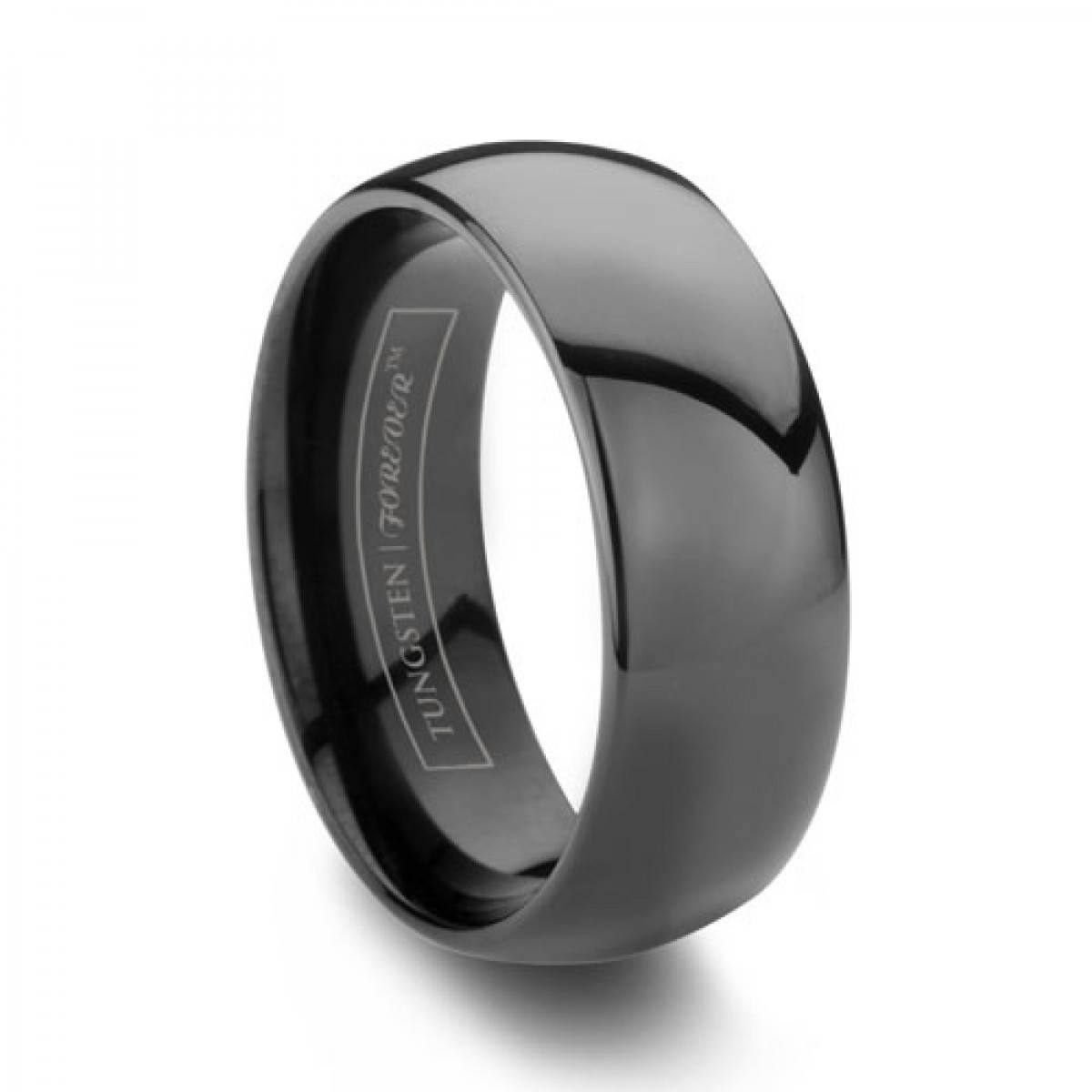Plain Ideas Tungsten Wedding Rings For Men Mens Tungsten Rings Up In Grey Tungsten Wedding Bands (View 7 of 15)