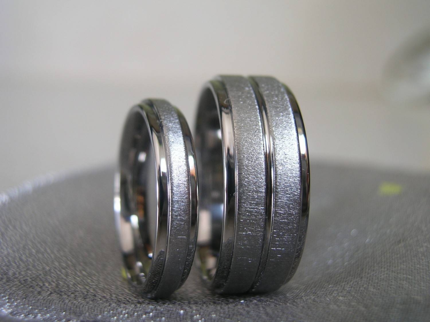 Featured Photo of Titanium Lord Of The Rings Wedding Bands