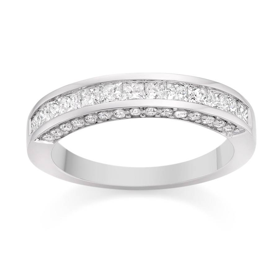 Platinum Wedding Rings For Her Pertaining To Platinum Wedding Bands For Her (View 13 of 15)