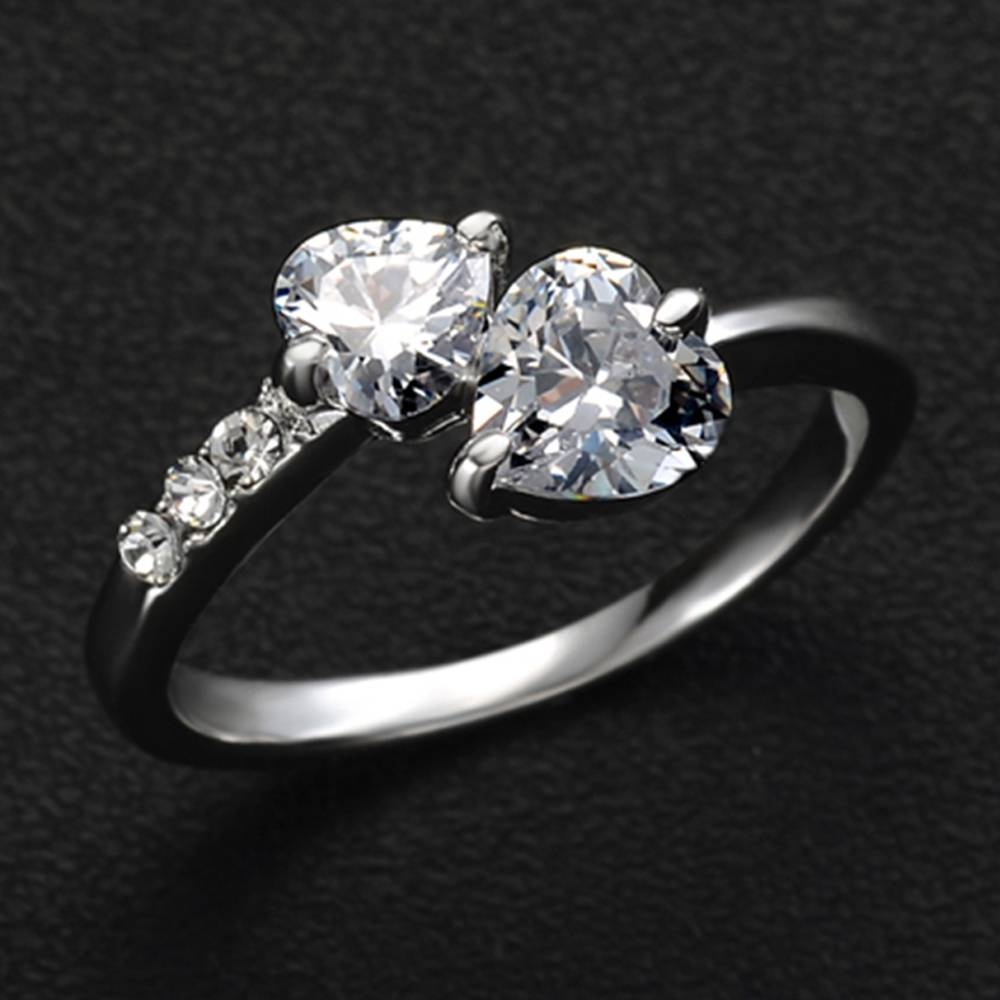 Popular 2 Wedding Rings Buy Cheap 2 Wedding Rings Lots From China For Hottest Wedding Rings (View 11 of 15)